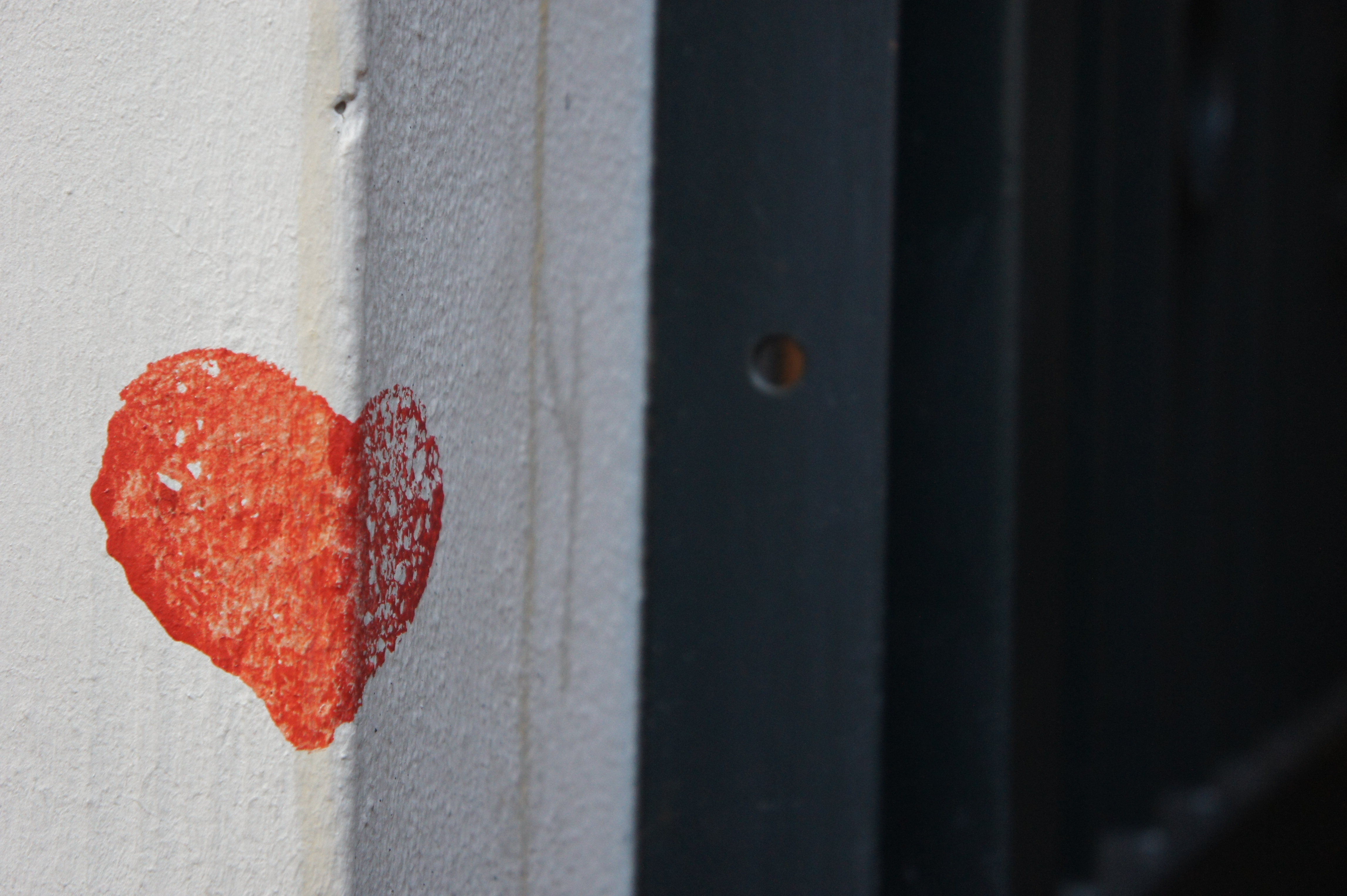 Liebe gibt´s an jeder Ecke